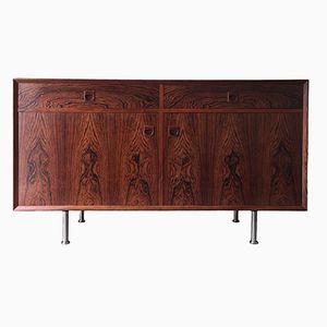 Mid-Century Danish Sideboard in Brazilian Rosewood Veneer from Brouer Møbelfabrik, 1960s
