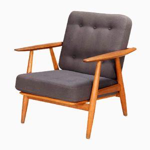 GE-240 Cigar Sessel aus Eichenholz von Hans J. Wegner für Getama, 1950er