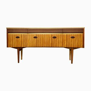 Mid-Century Teak Veneer Chest of Drawers from Elliots of Newbury