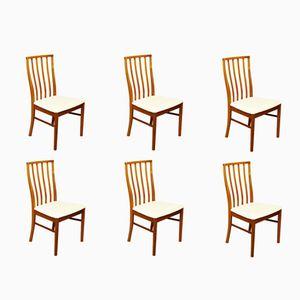 Mid-Century Teak Stühle von McIntosh, 6er Set