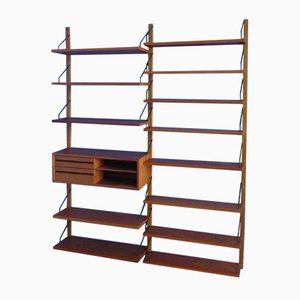 Teak Shelving System by Poul Cadovius for Cado, 1960s