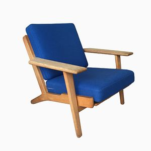 GE 290 Plank Chair in Oak by Hans J. Wegner for Getama, 1950s