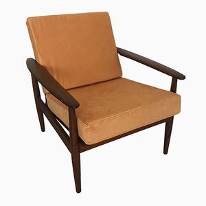Dänischer Cigar Sessel aus Eichenholz, 1960er
