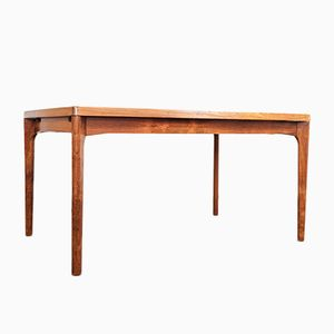 Mid-Century Rosewood Table by Henning Kjærnulf for Vejle