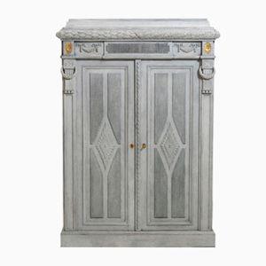 Geschnitzter Schrank mit Zwei Türen, 1910er