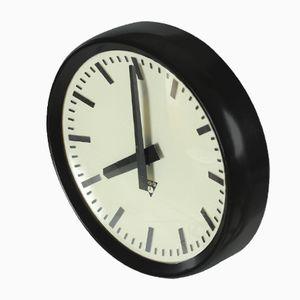 Former Czechoslovakian Bakelite Clock PV 301 from Pragotron, 1984