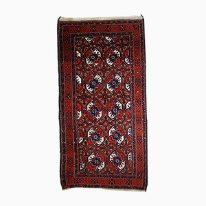 Antiker Handgeknüpfter Afghan Baluch Teppich, 1900er
