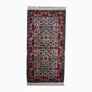 Handgeknüpfter Indischer Vintage Agra Teppich, 1970er