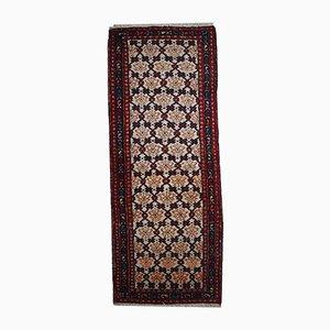 Vintage Handmade Persian Hamadan Runner, 1960s