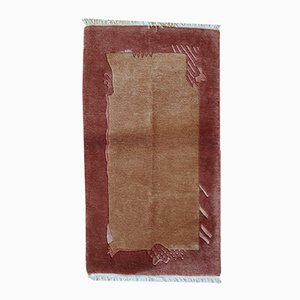 Vintage Handmade Tibetan Khaden Rug, 1970s