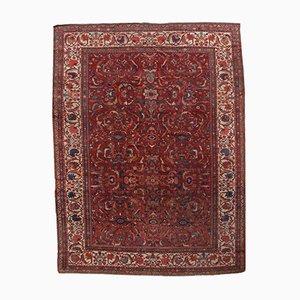 Antiker Handgeknüpfter Persischer Sultanabad Teppich, 1880er