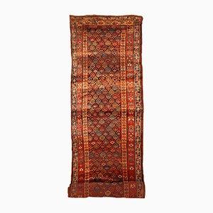 Antique Handmade Persian Runner, 1880s