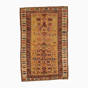 Antique Handmade Caucasian Kuba Rug, 1870s