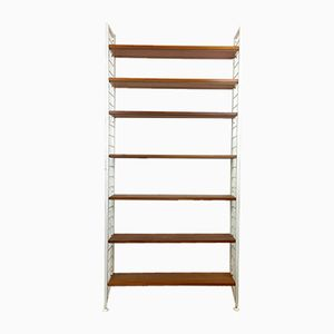 English Ladderax Shelving System by Robert Heal for Staples of Crickelwood, 1960s