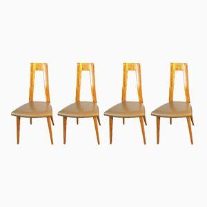 Mid-Century Stühle von Martin Dettinger, 4er Set