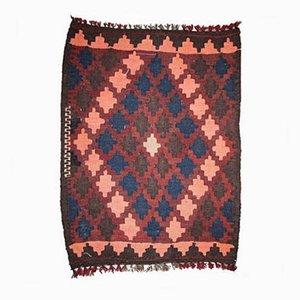Vintage Handmade Afghan Kilim Rug, 1960s
