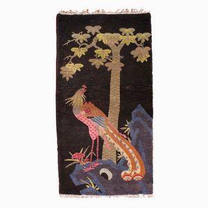 Handmade Chinese Art Deco Rug, 1920s