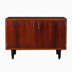 Vintage Danish Rosewood Veneer Commode