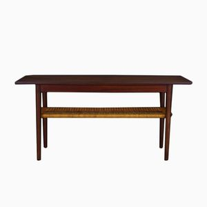 Vintage Danish Coffee Table in Teak Veneer