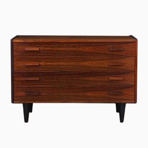 Vintage Danish Chest of Drawers in Rosewood Veneer