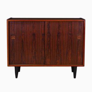 Vintage Scandinavian Rosewood Veneer Commode