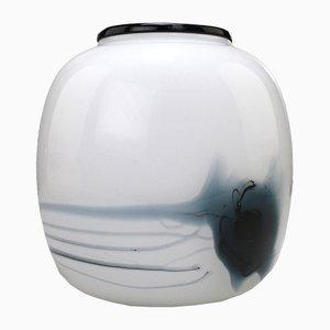 Danish Art Glass Atlantis Vase by Michael Bang for Holmegaard, 1981