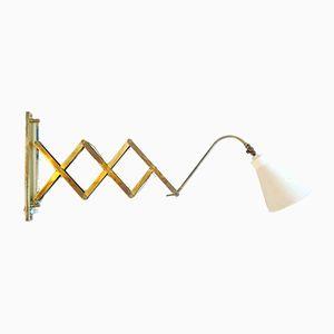 Mid-Century Scissor Wall Lamp