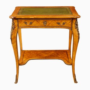 Mid-Century French Inlaid Writing Table