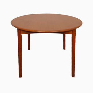 Danish Extendable Teak Dining Table, 1960s