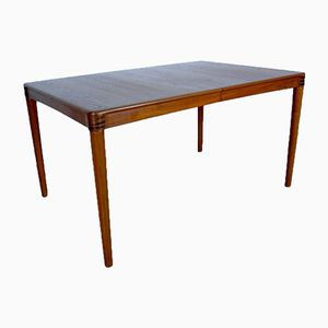 Vintage Teak Extendable Dining Table by H.W. Klein for Bramin