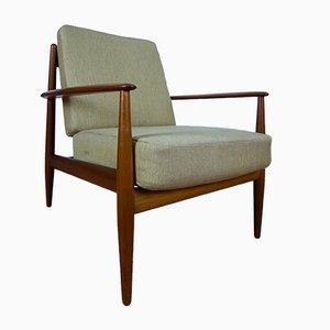 Teak Sessel von Grete Jalk für France & Daverkosen, 1950er