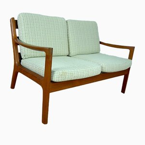 Zwei-Sitzer Teak Sofa von Ole Wanscher für France & Son, 1970er