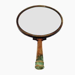 Swedish Hand Mirror by Hans Bergström for Ystad Brons