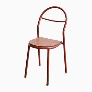 Chaise Vintage par René Herbst pour Mobilor