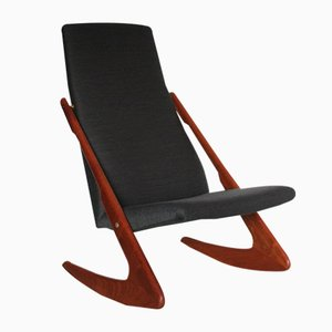 Mid-Century Rocking Chair from Mogens Kold