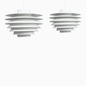 Verona Lamps by Svend Middelboe for Nordisk Solar, 1970s, Set of 2