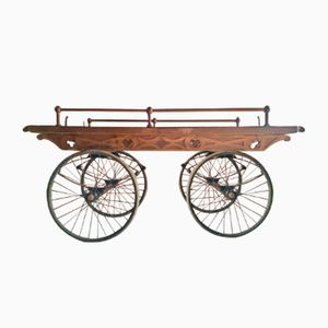 Chariot Victorien en Chêne, 1870s