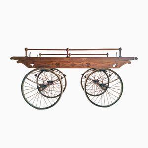 Victorian Oak Cart, 1870s