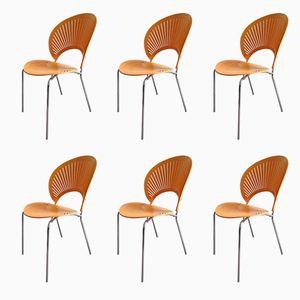 Trinidad Stühle von Nanna Ditzel für Fredericia, 1993, 6er Set