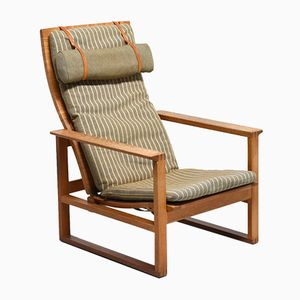 Vintage 2254 Lounge Chair by Borge Modensen for Fredericia