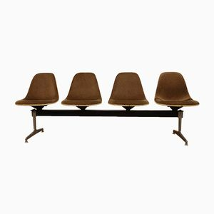 Tandem Bench by Charles & Ray Eames for Herman Miller, 1964