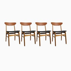 Mid-Century Monaco Chairs by Ikea, Set of 4