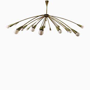 Große Sputnik Deckenlampe, 1950er