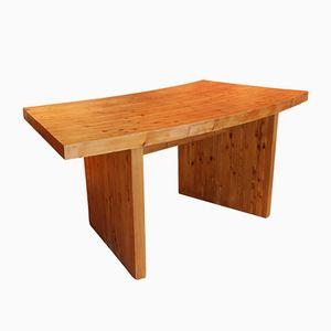 Vintage Laminated Pine Desk
