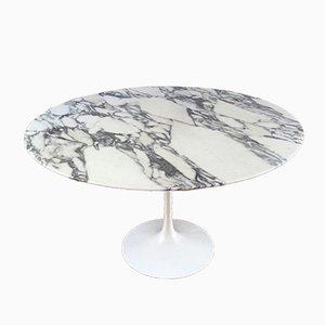 Vintage Marmor Tulip Tisch von Eero Saarinen für Knoll