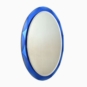 Mid-Century Italian Glass Mirror, 1960s