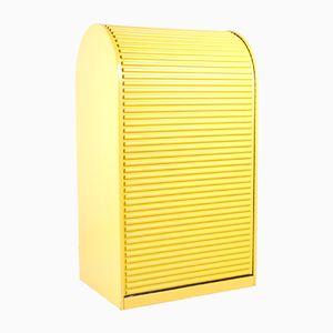 Yellow Shutter Cabinet, 1970s