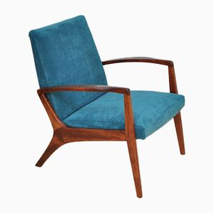 Armchair in Aquamarine, 1960s