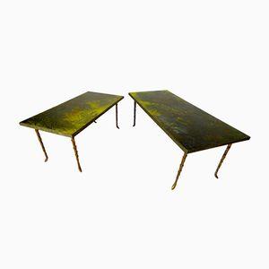 Vintage Side Tables by Maison Bagués, Set of 2