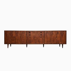Mid-Century Scandinavian Rosewood Veneer Sideboard